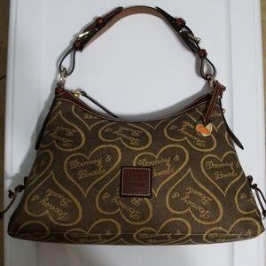 Dooney & Bourke Signature Heart purse